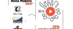 Apresentação do projeto Rena Makers em vídeo 360°
