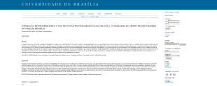 FORMAÇÃO DE PROFESSORES E O USO DE NOVAS TECNOLOGIAS NA SALA DE AULA: O TRABALHO DO GRUPO DE EDUCADORES GOOGLE DE BRASÍLIA